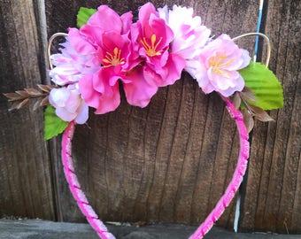 Valentine Bouquet Kitty Ears