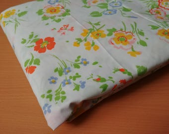 vintage springmaid double fitted sheet