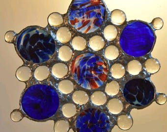 glass art and suncatcher