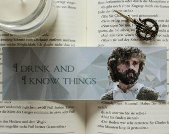 Tyrion Lannister Game of Thrones Bookmark
