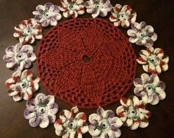 Crochet decoration for table