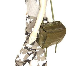 Army surplus/military issue water resistant shoulder bag