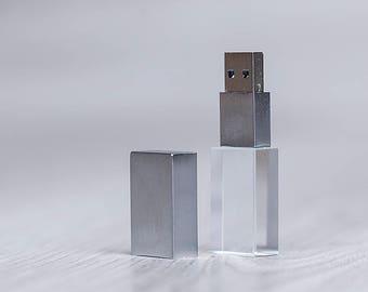 USB stick Crystal 3.0 8, 16 or 32 GB