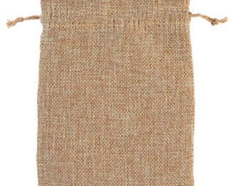50-Linen Pouches 5x7 Inch