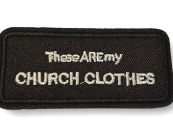Patch CHURCH CLOTHES