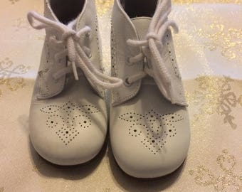 Cute Little Shabby Chic Baby Shoes