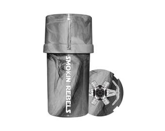 Herb Grinder Coffee Grinder Air Tight  Water Tight  Smell Proof  Star Wars Grinder Pill Grinder Container
