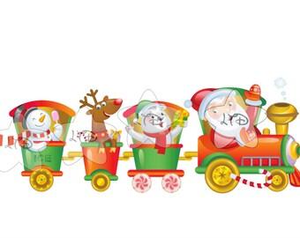 Christmas Santa Train Transfer