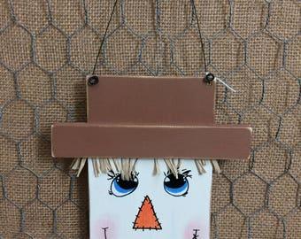 Scarecrow Face Wall Hanger