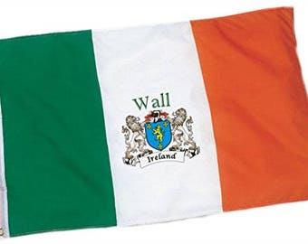 Wall Irish Coat of Arms Flag - 3'x5' foot