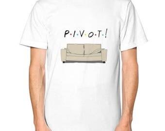 """Friends TV Show """"Pivot"""" T-Shirt"""
