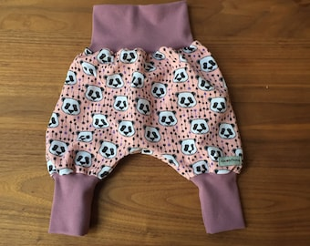 "Bloomers ""Rosa Panda""/OEKO-Tex Plush/adult size 68-80"
