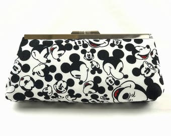 Mickey Mouse Inspired Clutch