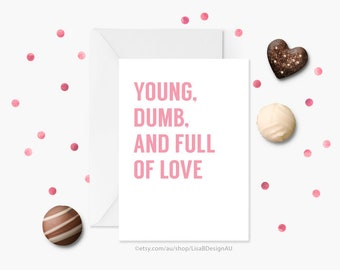 Anniversary Card, Valentines Card, I Love You Card, Card for Her, Card for Him, Card for Girlfriend, Card for Boyfriend | GCLACA6020