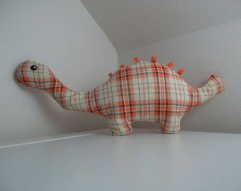 Toy dinosaur fabric
