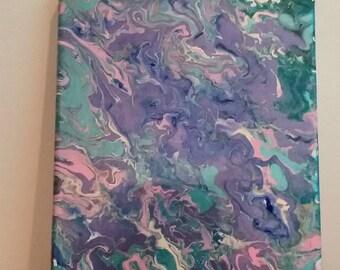 Unicorn Dreams 8x10 painting