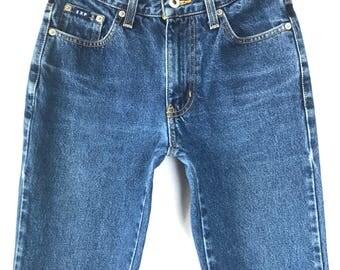 90s Express Bleus Boot Cut Low Rise  Jeans, 25 26 inch waist, Size 2 Size 3