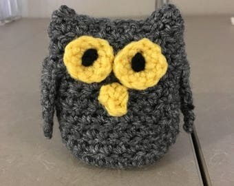 Grey Owl Amigurumi