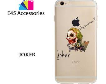 JOKER - Marvel Super Heros Hard Case for iPhone 5S 5 SE, iPhone 6S 6 or iPhone 7