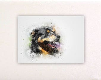 Dog - Watercolor prints, watercolor posters, nursery decor, nursery wall art, wall decor, wall prints 7 | Tropparoba - 100% made in Italy