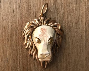 Lion Face Pendant