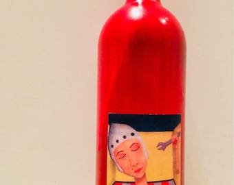 The art of disassembling his head (In the bottle-Limited Edition) by the work of Stefano Feffo Parmar