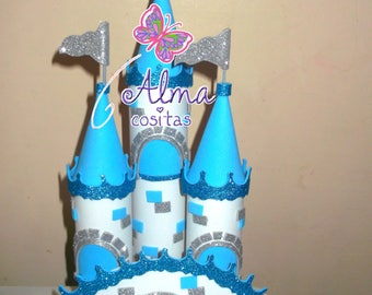 Frozen and Rapuncel princesses castles