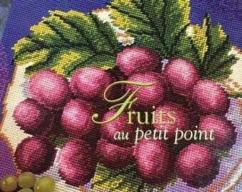 Fruits au petit point