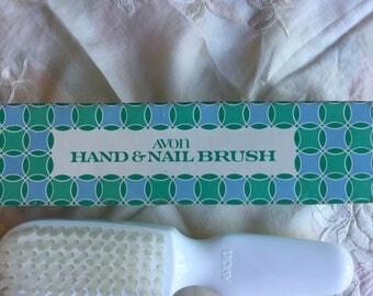 NIB Vintage Avon Hand and Nail Brush