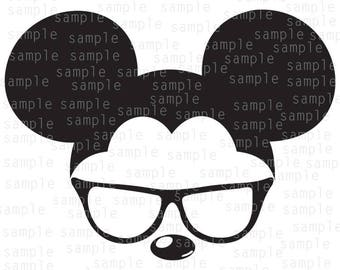 Inspired Mickey glasses, clear cat, SVG, JPG, PNG, download files, svg files, Mickey Mouse svg, Disney svg, Mickey svg, Disneyland svg