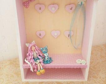 Box keys, cold porcelain doll