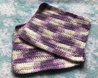 Handmade washcloths set of two