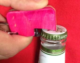 Recycled Skateboard Bottle Opener