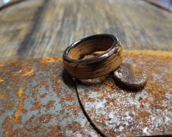 Whiskey Barrel Ring Old No7 Chard And Turned Straight Off The Southern