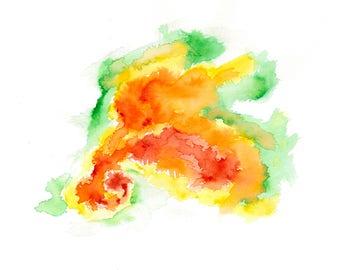 Radar Watercolor