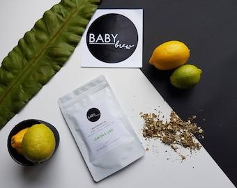 Breastfeeding Lactation Tea -  Lemon & Lime