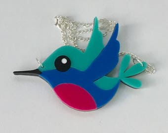 Harriet the Hummingbird Necklace