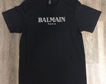 Balmain Printed T- Shirt