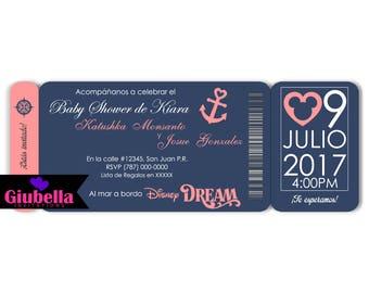 Digital Invitation Disney Dream
