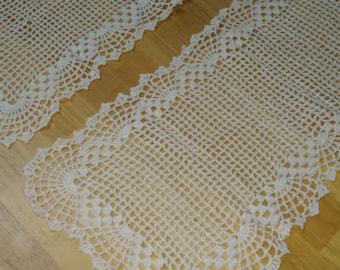 7 piece Doily Set