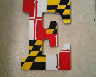 Maryland Flag Letter