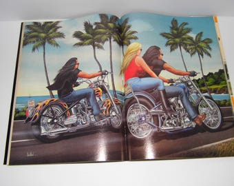 NEW Vintage Easyriders Magazines Harley Davidson -New Old Stock -1988 to 1990- 8 to Choose From -Priority Shipping Discounted w/another item