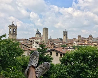 Italian Kicks Postcard