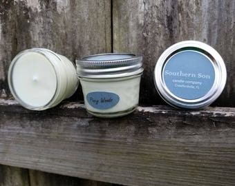 Piney Woods 4oz soy candle
