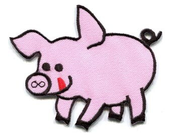 Light Pink Pig Patch W.Ch.Patch