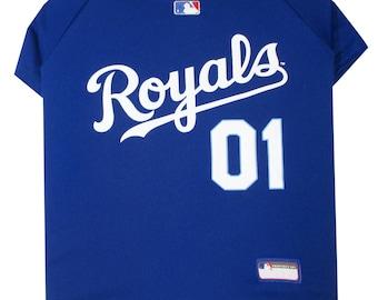 Kansas City Royals Dog Jersey / Pet Clothes / Dog Clothes