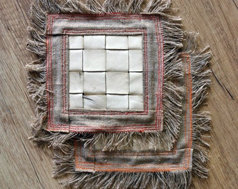 """Table mats """"Wicker–small-2"""""""