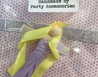 Handcrafted Rapunzel hair slide