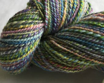 Handspun superwash BFL knitting yarn