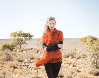 "Kid Mohair ""Snuggle"" Shawl available in 7 fashion colours"